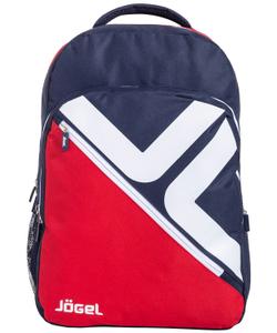 Рюкзак JBP-1901-291, красный/темно-синий/белый, L