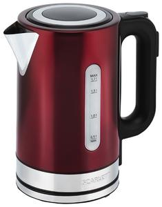Чайник электрический Scarlett SC-EK21S78 бордовый