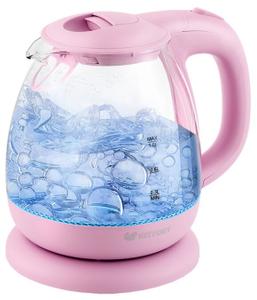 Чайник электрический Kitfort KT-653-2 розовый