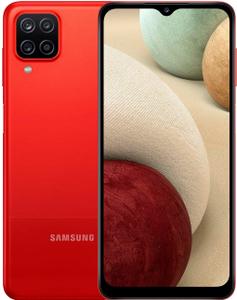 Смартфон Samsung Galaxy A12 64 Гб красный