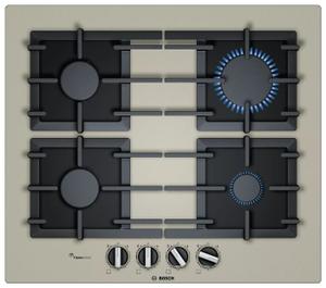 Газовая варочная панель Bosch PPP6A8B91R бежевый