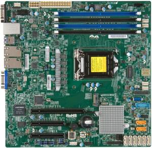 Материнская плата SuperMicro MBD-X11SSH-F-O