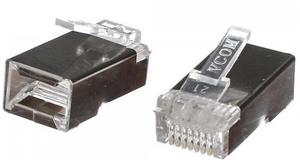 Коннектор RJ-45 VCOM VNA2230-1/100 категория 5 100 штук