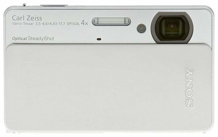 "SONY Cyber-shot DSC-TX5 <Silver> (10.2Mpx, 25-100mm, 4x, F3.5-4.6, JPG, SDHC/MS Duo, 3.0"", USB2.0, AV, Li-Ion), после ремонта"