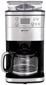 Кофеварка капельная Kitfort КТ-705 серебристый