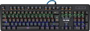 Клавиатура проводная Defender Paladin GK-370L черный