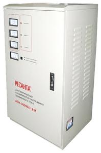 Стабилизатор напряжения Ресанта ACH-30000/3-ЭМ электронный трехфазный серый