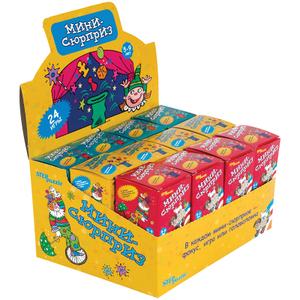 """Игра настольная Step Puzzle """"Мини-Сюрпризы"""", картонная коробка"""