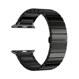 Ремешок из нержавеющей стали для Apple Watch 38/40 mm LYAMBDA CANOPUS DS-APG-05-40-BL Black