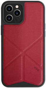 Чехол накладка Uniq для Apple iPhone 12 Pro Max красный