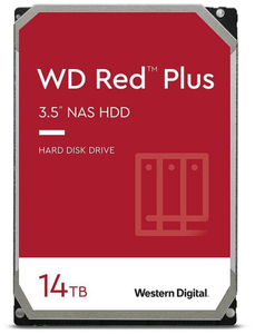 Жесткий диск Western Digital [WD140EFGX] Red Plus 14 ТБ