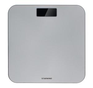 Весы напольные StarWind SSP6010 серебристый