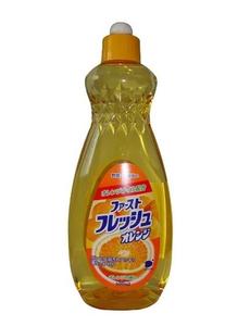Жидкость для мытья посуды, овощей и фруктов Свежий апельсин 600мл Funs