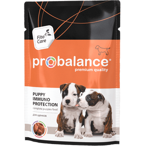 """Влажный корм для щенков ProBalance """"Immuno Protection"""" защита иммунитета 25 шт. х 100 гр."""