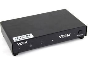 VCOM < VDS8044D / DD414A > HDMI Splitter (1in - > 4out) + б.п.