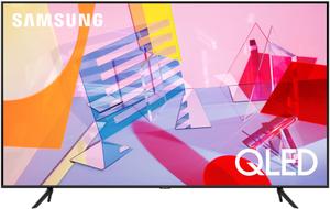 "Телевизор Samsung QE85Q60TAUXRU 85"" (215 см) черный"