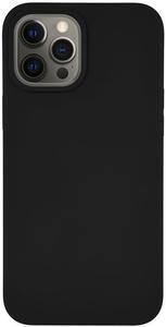 Чехол защитный «vlp» Silicone Сase для iPhone 12 ProMax, черный