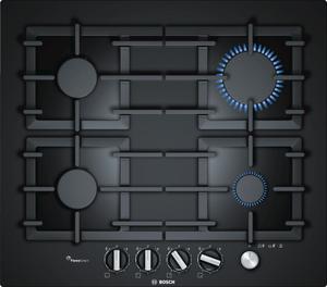 Газовая варочная панель Bosch PPP6A6M90R черный