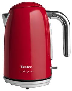 Чайник электрический TESLER KT-1755 красный