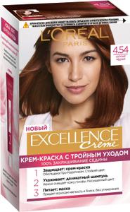 Крем-краска для волос Excellence 4.54 Богатый медный L'Oreal Paris