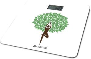 Весы напольные Polaris PWS 1876DG Yogatree белый