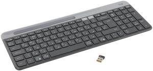 Клавиатура беспроводная Logitech Slim K580 черный