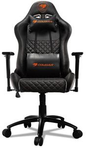 Кресло игровое Cougar Rampart черный