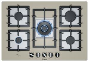 Газовая варочная панель Bosch PPQ7A8B90R бежевый