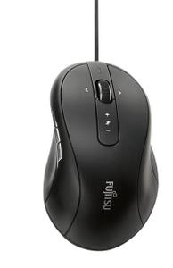 Мышь проводная Fujitsu BLUE LED MOUSE M960 черный