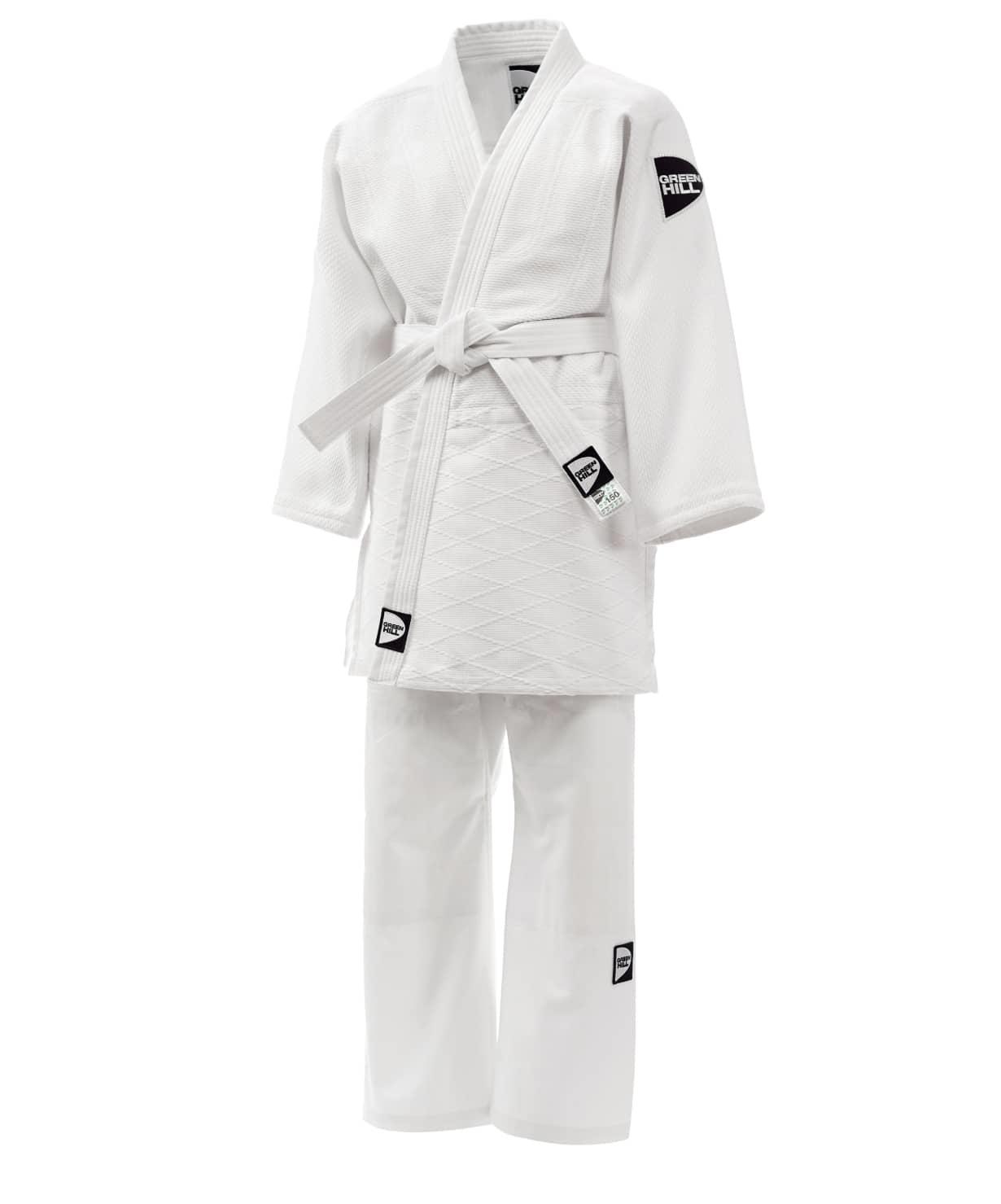Кимоно для дзюдо JSTT-10761, белый, р.6/190