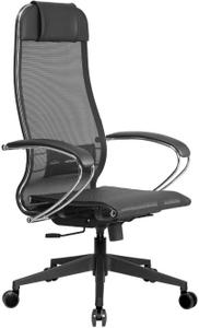 Кресло офисное Метта Комплект 4 черный  (БЕЗ ОСНОВАНИЯ)