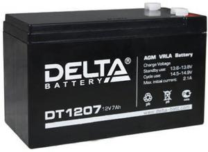 Аккумулятор Delta DT 1207 (12V, 7Ah)