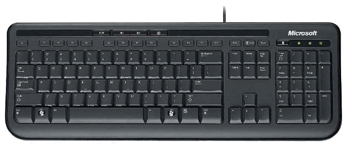Клавиатура Microsoft Wired Keyboard 600 USB