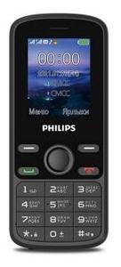 Сотовый телефон Philips Xenium E111 черный