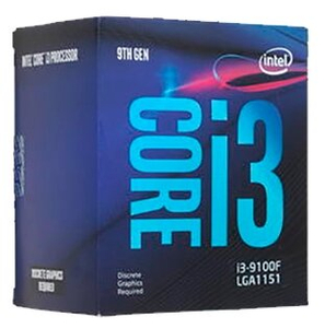 Процессор Intel Core i3-9100F BOX