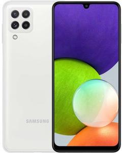 Смартфон Samsung Galaxy A22 64 Гб белый