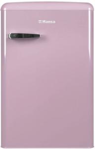 Холодильник Hansa FM1337.3PAA розовый