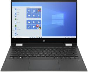 Ноутбук-трансформер HP Pavilion x360 14-dw1005ur (2X2R0EA) серебристый