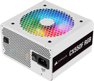 Блок питания Corsair CX550F RGB White [CP-9020225-EU] 550 Вт