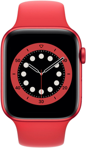Смарт-часы Apple Watch Series 6 44mm красный