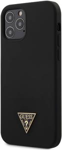 Чехол накладка Guess для Apple iPhone 12/12 Pro черный