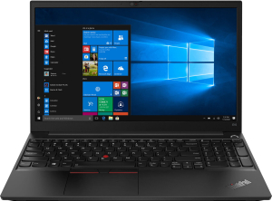 Ноутбук Lenovo ThinkPad E15-ARE T Gen 2 (20T8000URT) черный