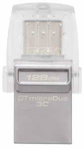Флэш-накопитель Kingston [DTDUO3C/128GB] 128 Гб