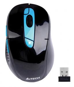 Мышь беспроводная A4Tech G11-570FX черный