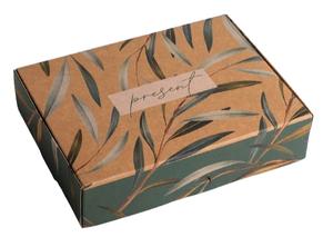 Коробка складная крафтовая Present, 21 × 15 × 5 см 4789096
