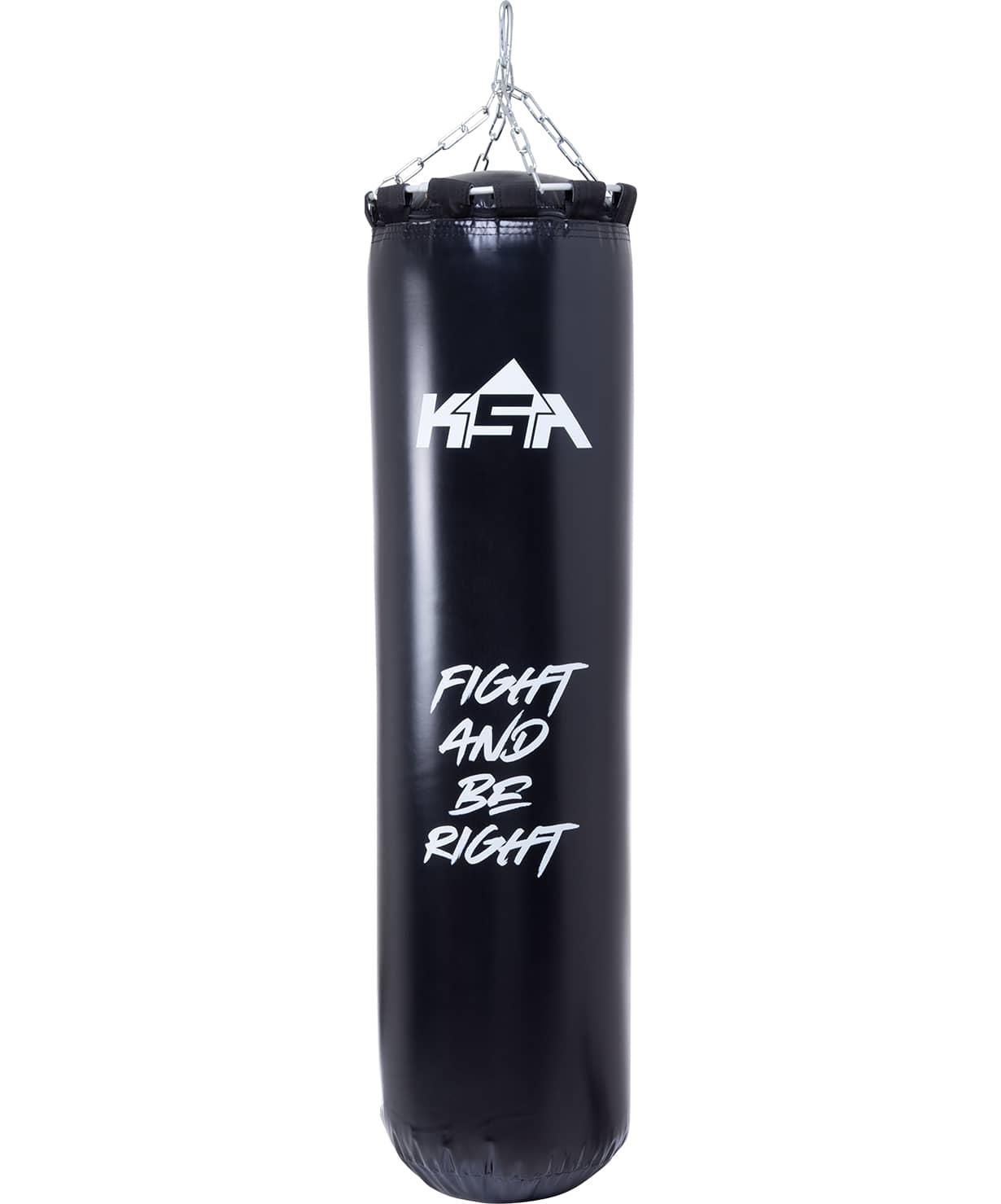 Мешок боксерский PB-02, 110 см, 35 кг, ПВХ, черный