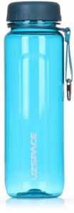 Бутылка для спорта UZSPACE, U-shape sports water bottle, 750 ml (6003) (Бирюзовый)