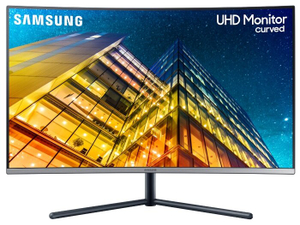Монитор Samsung U32R590CWI серый