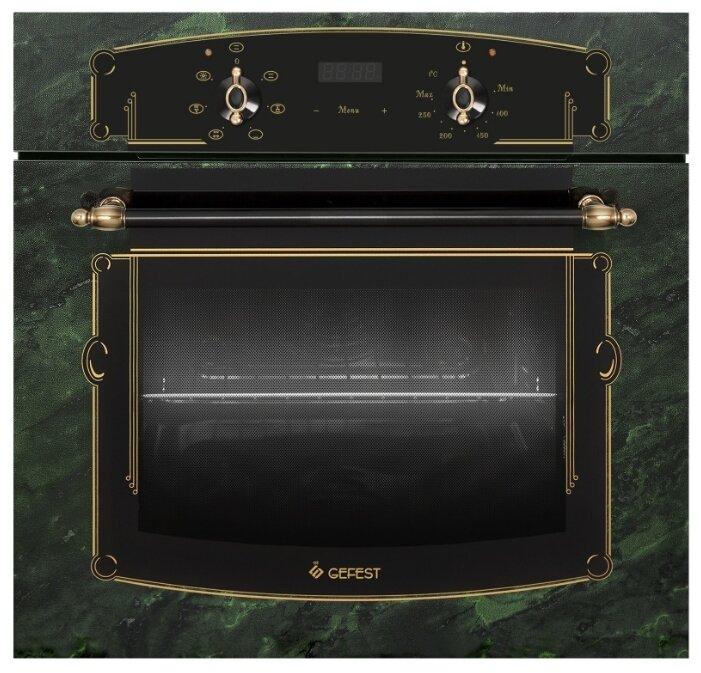 Духовой шкаф GEFEST ЭДВ ДА 622-02 К69 зеленый