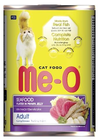 Влажный корм для кошек Me-O Консервы - Морепродукты 400 г ( 12 шт. в уп.)